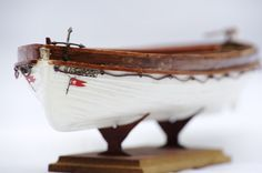 Scalemodel of a lifeboat of the RMS Titanic