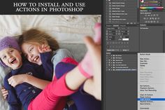 How to install and use actions in Photoshop by April Nienhuis