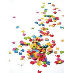 Confetti ❤ liked on Polyvore featuring backgrounds, party, decor, effect and filler