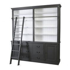 biblioth que avec chelle amandine biblioth que pinterest chelle et biblioth ques. Black Bedroom Furniture Sets. Home Design Ideas