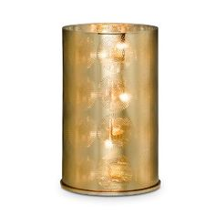 Jonathan Adler for PartyLite Santorini Hurricane Jonathan Adler, Santorini, Candle Picture, Partylite, Pots, Going For Gold, Beautiful Candles, Mercury Glass, Mason Jar Lamp