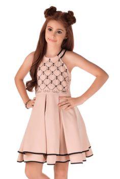 Cute Little Girl Dresses, Dresses Kids Girl, Girls Party Dress, Kids Outfits, Tween Fashion, Girls Fashion Clothes, Fashion Outfits, Kids Dress Wear, Baby Dress