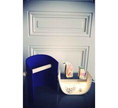 Lampe  poser en grille recyclée Design Florent Bouhey Fayolle