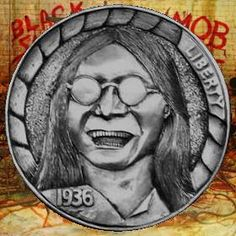 Derek Pegnall-Ozzy Hobo Nickel, Coin Art, Great Life, Famous People, Buffalo, Knight, Cactus, Coins, Carving