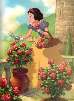 """From """"To The Rescue"""" found in both Enchanted Stables and The Princess Collection. Disney Princess Snow White, Snow White Disney, Disney Princess Art, Disney Films, Disney Pixar, Disney Characters, Disney Princesses, Disney Love, Disney Magic"""