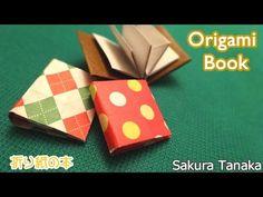 Origami Book / 折り紙 本 折り方 - YouTube