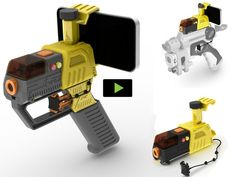 Laser AppTag for iPhone, iPod, Android. Real Shooter Gaming! by Jon Atherton, via Kickstarter.