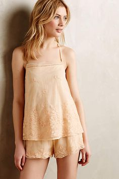 Apricot Mesh Camisole - anthropologie.com