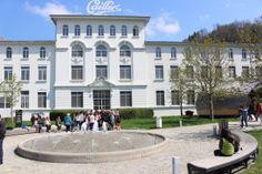 A famosa fábrica de chocolate Cailler  em Broc na Suíça