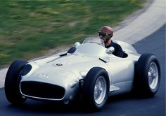 The Mercedes-Benz W196----- was the Mercedes-Benz Formula One entry in the 1954 and 1955 Formula One seasons, winning 9 of 12 races entered in the hands of Juan Manuel Fangio and Stirling Moss.