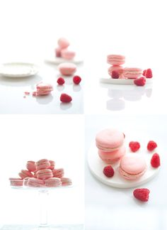 Raspberry macarons « Cooking Blog – Find the best recipes, cooking and food tips at Our Kitchen.
