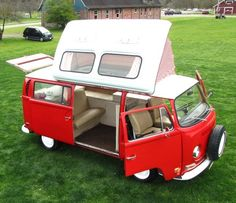 1971 VW Camper Van by Dormobile