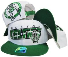 57bd83132187d Boston Celtics White Green Adjustable Snapback Hat   Cap  47 Brand.  29.99