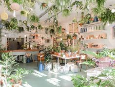 "ironperennial: ""Atelier Rue Verte "" I've been here! It was awesome! Interior Garden, Interior And Exterior, Garden Shop, Home And Garden, Rue Verte, Pantone Greenery, Espace Design, Weekends Away, Plantation"