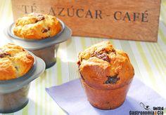 Muffins de chocolate y cardamomo
