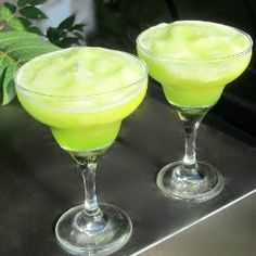 Frozen Key Lime Daiquiris by HungryCouple