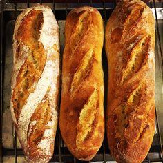 Baguette homemade bread