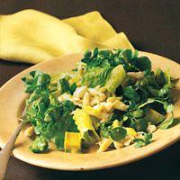 Crab-and-Avocado Salad with Ginger Vinaigrette - Seafood Salad Recipes - Ginger Lemon Vinaigrette Recipes - Delish.com