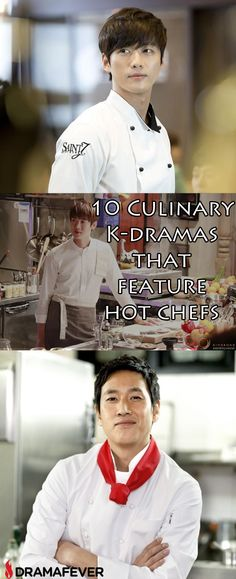 These K-drama chefs sizzle onscreen!