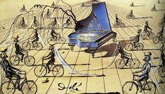 Sentimental Colloquy, 1944, Salvador Dalí