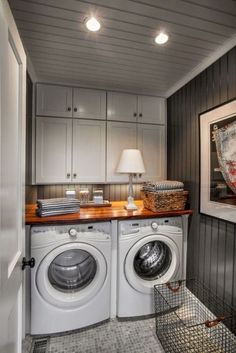 Amazing Farmhouse Laundry Room Decor Ideas 15
