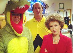 The Office Halloween. Oscar, Kevin and Angela