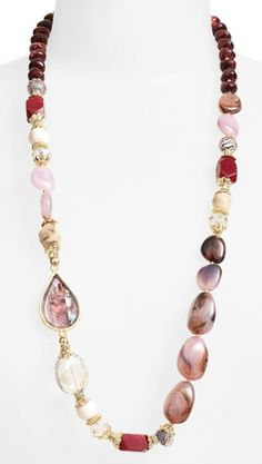 beautiful bead necklace