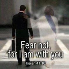 イザヤ書41:10ー恐れるな。わたしはあなたとともにいる。たじろぐな。わたしがあなたの神だから。わたしはあなたを強め、あなたを助け、わたしの義の右の手で、あなたを守る。