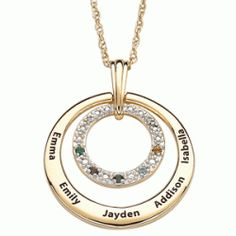 Grandma Necklace with Birthstones - the perfect Christmas gift for Grandma?  #grandmagifts #christmas