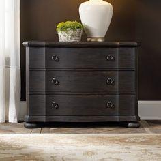 Hooker Furniture Corsica 3 Drawer Bachelor's Chest & Reviews | Wayfair