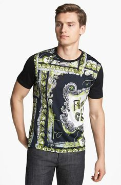 3277f0a00f Versace  Rock  Print T-Shirt