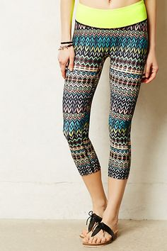 Paola Cropped Leggings - anthropologie.com