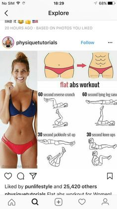 wie man Bauchfett 7815912228 los wird Best Picture For Daily Workout and diet For Your Taste You are looking for something, and it is going to Abs On Fire Workout, Six Pack Abs Workout, Gym Workout Tips, Fitness Workout For Women, Waist Workout, Fitness Routines, Body Fitness, Butt Workout, Workouts Hiit