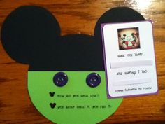 Save the date disney style II