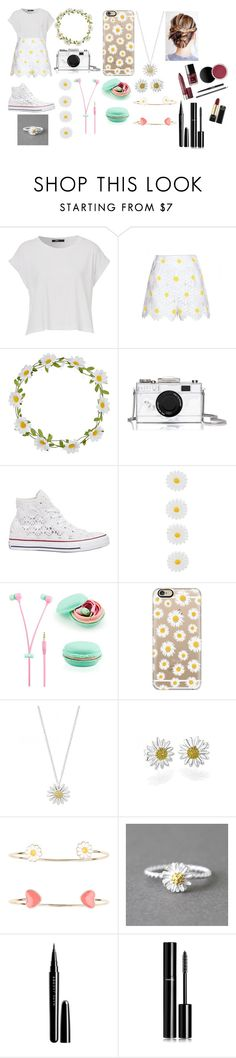 """Daisy Day!!!!!!!!!"" by leena-sabagh ❤ liked on Polyvore featuring Dolce&Gabbana, Carole, Kate Spade, Converse, Accessorize, Casetify, Daisy Jewellery, Marc Jacobs and Chanel"