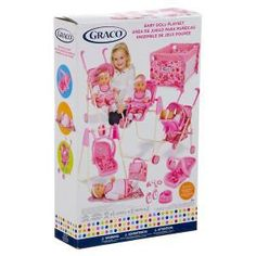 Graco 11pc Baby Doll Playset