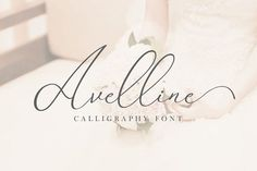 Avelline Luxury Script by Flufftype on @creativemarket #font #script #typography #ideas #inspiration #digitalart