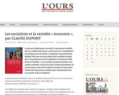 Claude Dupont, L'OURS, 25 mars 2016 Dupont, Claude, Mars, March, Mars Symbol
