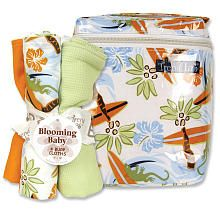 Trend Lab Surf's Up Bottle Bag and Burp Cloth Set. So getting this!