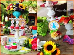 Alice in Wonderland party idea for my daughter