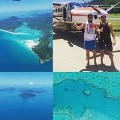 WHAT A DAY! Skydive this morning then a flight out to the great barrier reef. These pictures do it no justice at all. It has to be one of the most stunning places on the planet. I even had a little weep I was so happy up there. Thankyou @ben_fr_uk   #Whitsundays #greatbarrierreef #airlie #airliebeach #skydivethebeach #queensland #skyhigh #Whitehavenbeach #whitehaven #heartreef #coralreef #coral #gaysontour #cruise #whataview #vista #wishyouwerehere by mrmattlister http://ift.tt/1UokkV2