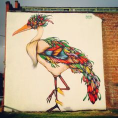 New graffiti in norther quarter manchester
