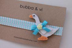 Glitter Hair Clip - Goose Hair Clip - Glitter Goose Hair Clip - Duck Hair Clip - Duck Headband, Bubba and Vi on Etsy, $16.68 AUD