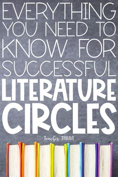 This blog post is jam-packed with tips and tricks for successful literature circles. Learn how to create groups, select books, set up a schedule, and so much more.