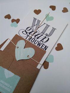 Wedding card 'Rik & Aswintha'