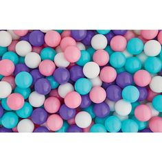 What's the only thing better than a ball pit? Having a personal ball pit all to yourself! Our Stats 250 Piece Plastic Play Balls in Pastel are ideal for refilling or creating an awesome ball pit. These colorful and cool kids' toys are sure to be a hit at your child's next birthday party when you fill up your ball pit and let the kids dive into the fun. They'll have a ball! The deluxe plastic is soft but incredibly tough.<br><br>The Stats 250 Piece Plastic Play Ball...