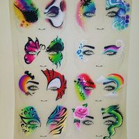 Busy night #facepaint #facepainting #paint #art #trainingtriedandtested #sallyannlynch #spiderman #dragan #pirate #batman #skull #mermaid #fairy #rose #flowers #tiger #leopard #butterfly #rainbow #glitter