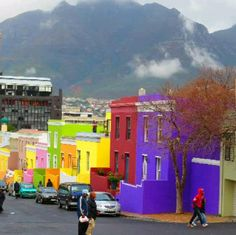 My hometown, colourful Bo-Kaap Cape Town, South Africa
