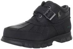 Ralph Lauren Polo Dover III Men s Rugged Duck Boots Black... https   33754c2da