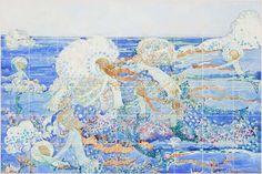 William Morris Tile: Mermaid Backsplash